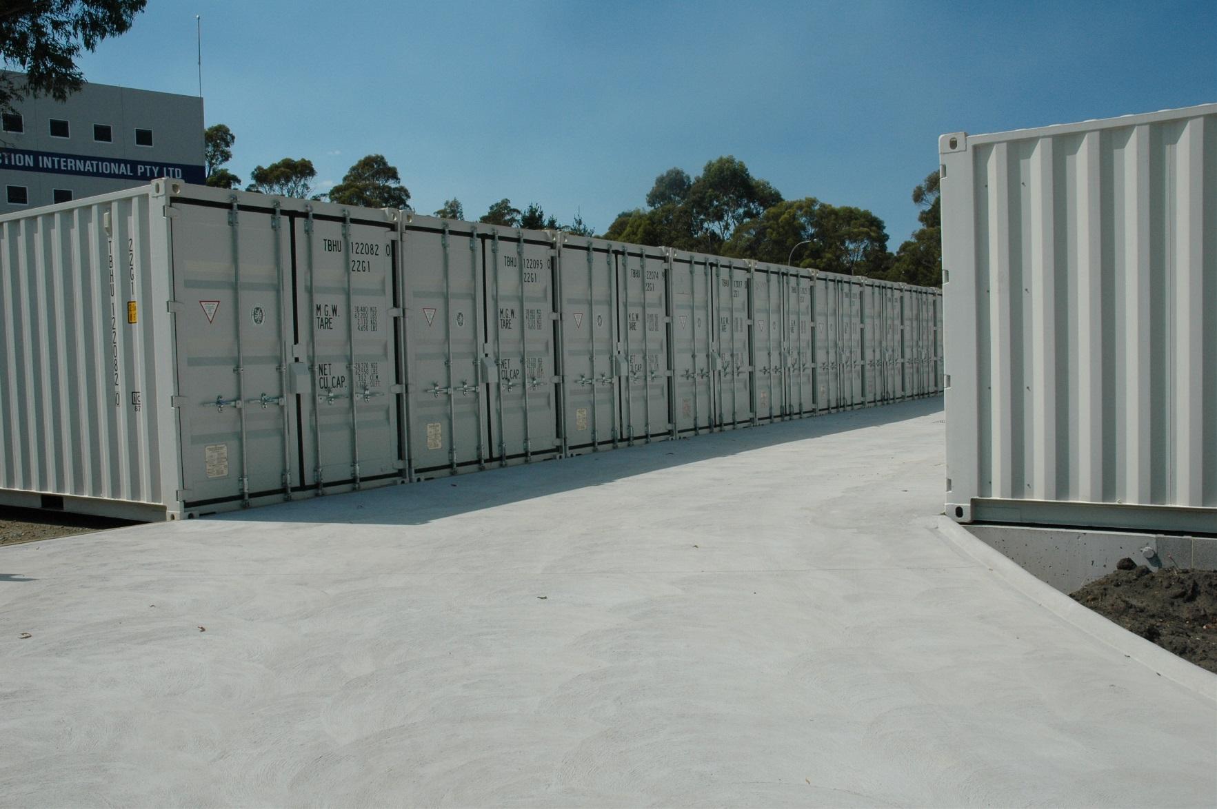 Kingborough Lockup Self Storage Facilities